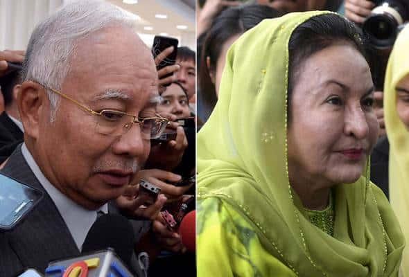 SPRM tidak minta dokumen baru daripada Najib, Rosmah, disoal selama sejam