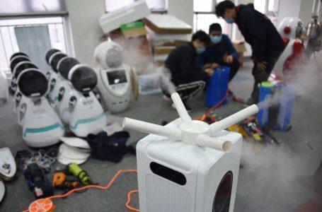 China reka robot untuk basmi Covid-19