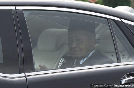 Mahathir Mohamad jumpa ketua-ketua parti politik