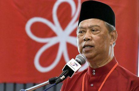 Muhyiddin dicalonkan sebagai Perdana Menteri oleh Bersatu