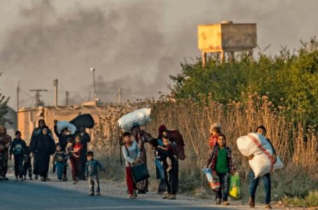 700,000 larikan diri akibat keganasan Turki-Syria