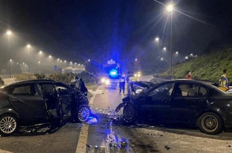 Pemandu dipercaya mabuk langgar empat kenderaan, seorang maut
