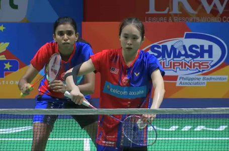 Skuad badminton wanita negara berikan saingan sengit kepada Jepun