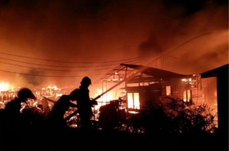 12 buah rumah musnah dalam kebakaran di Semporna