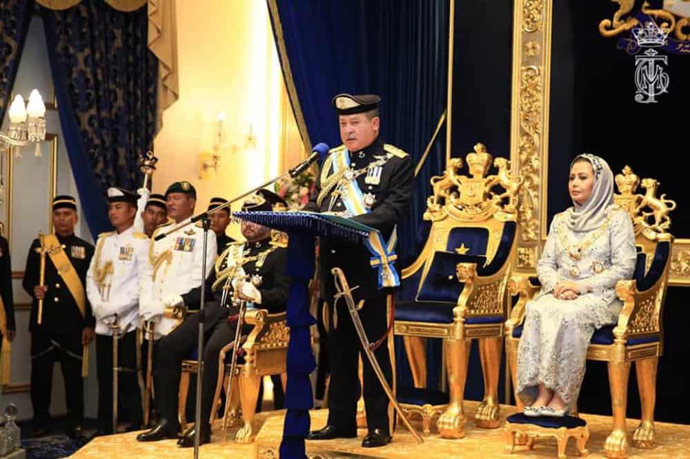 Istana Johor umum kerajaan gabungan baru