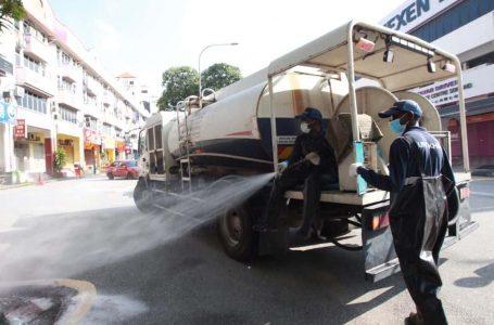Persekutuan Kuala Lumpur lancarkan proses pembasmian kuman untuk basmi penularan COVID-19