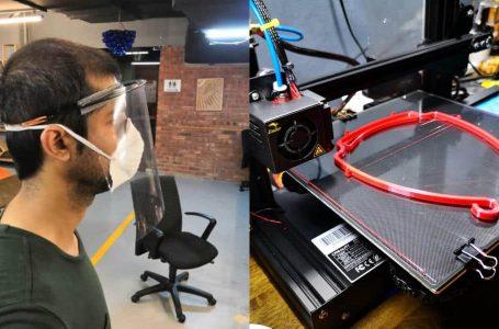 Komuniti percetakan 3D bantu cipta 'face shield' buat petugas barisan hadapan