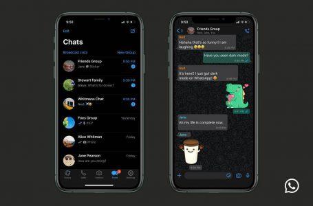 "WhatsApp lancarkan ""dark mode"" untuk iOS dan Android"