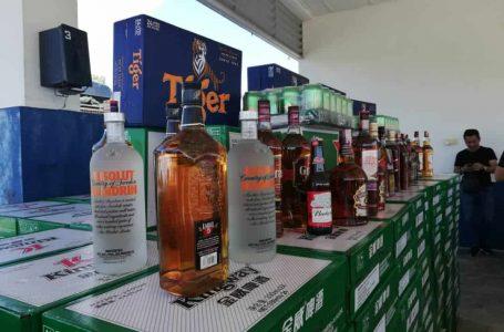Stor minuman keras seludup bernilai RM240,350 tumpas