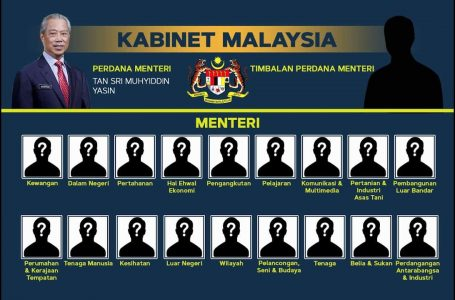 PM Tan Sri Muhyiddin Yassin: Ucapan penuh pengumuman senarai Kabinet