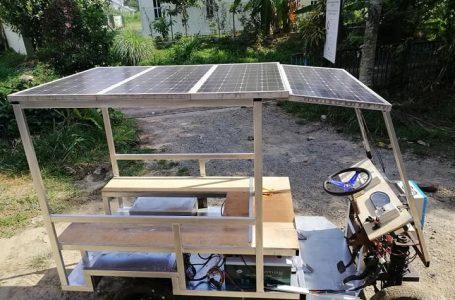 Bina kereta 'buggy' guna teknologi solar untuk bantu penduduk di luar bandar