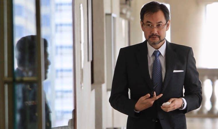 Datuk Shahrol Azral Ibrahim Halmi, 50, Bekas Ketua Pegawai Eksekutif 1Malaysia Development Berhad (1MDB) memberi