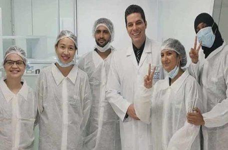 UAE berjaya mencipta teknologi ujian laser coronavirus pantas