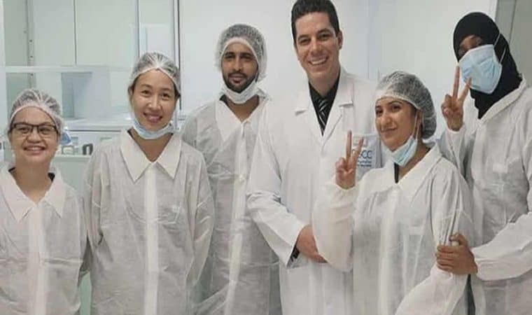 Coronavirus laser technology has been made success by UAE