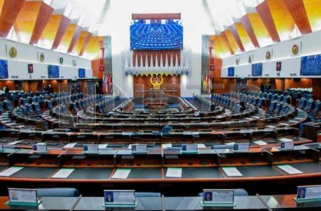"""""""Seating"""" Parlimen bersidang untuk 1 hari sahaja"""