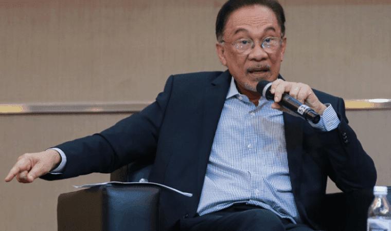 Ketua Pembangkang Parlimen, Datuk Seri Anwar Ibrahim