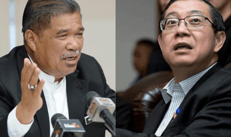 kata Setiausaha Agung DAP Lim Guan Eng dan Presiden Amanah Mohamad Sabu