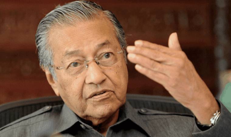 Former Prime Minister of Malaysia Tun Dr Mahathir Mohamad