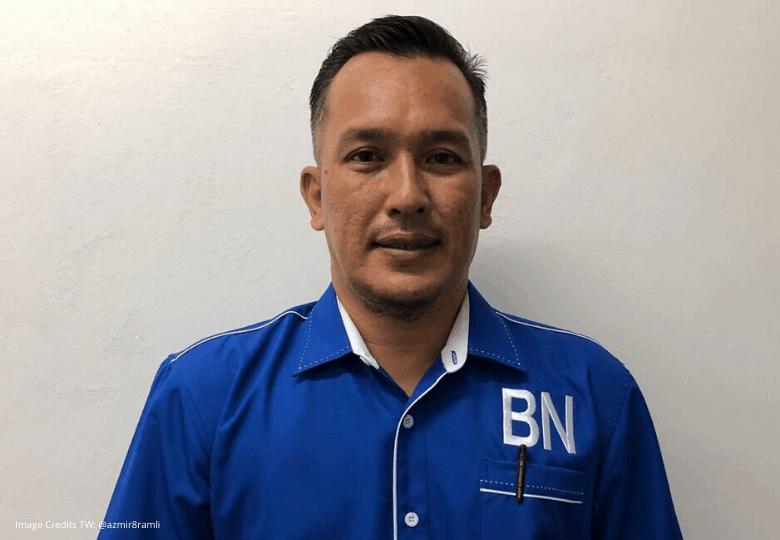 pilihan raya kecil Chini, Mohd Sharim Md Zain