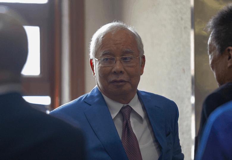Malaysian politician Datuk Seri Najib