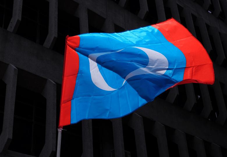 PKR party flag