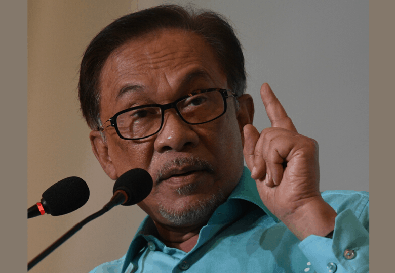 Ketua parti pembangkang, Datuk Seri Anwar Ibrahim