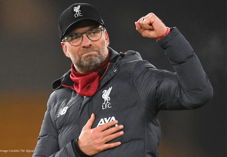 Liverpool football manager Jurgen Klopp