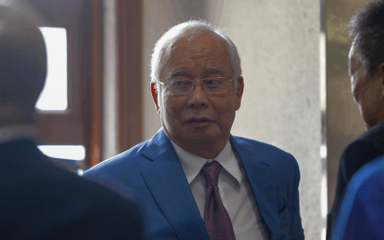 bekas Perdana Menteri Datuk Seri Najib Tun Razak