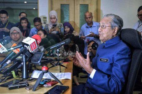 Mahathir memberitahu Ahli Parlimen untuk menolak Rang Undang-Undang yang meminta lebih banyak dana untuk kerajaan