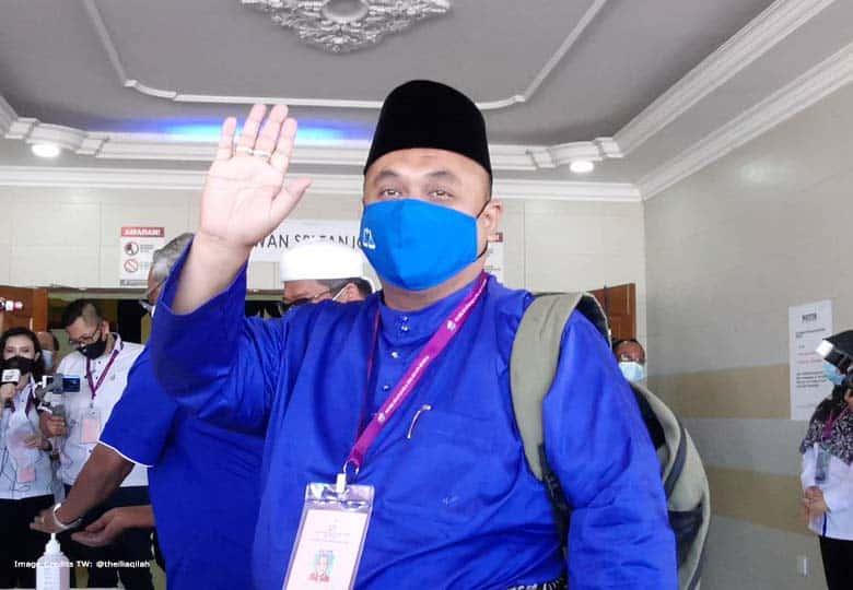 Calon Barisan Nasional (BN) Mohd Zaidi Aziz