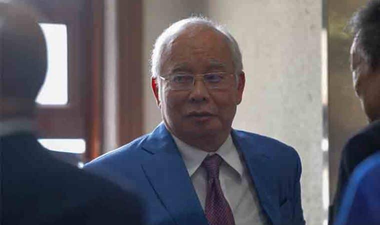 bekas perdana menteri Datuk Seri Najib Razak