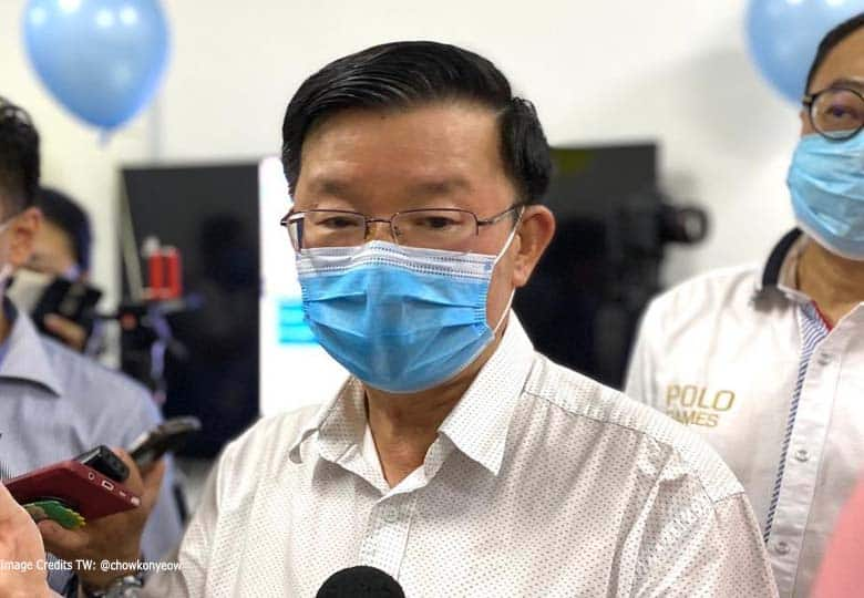 Ketua Menteri Pulau Pinang Chow Kon Yeow