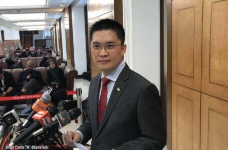 Wong Kah Wah dari DAP dilantik Ketua PAC