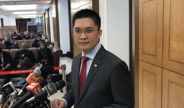 Ahli Parlimen Ipoh Timur Wong Kah Woh
