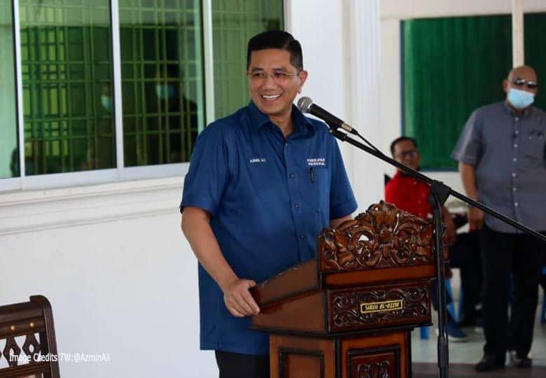 Anggota Majlis Tertinggi Bersatu, Datuk Seri Azmin Ali