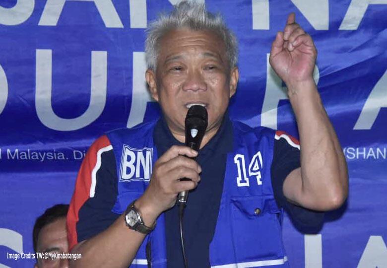 Pengerusi Barisan Nasional (BN) Sabah, Datuk Seri Bung Moktar Radin
