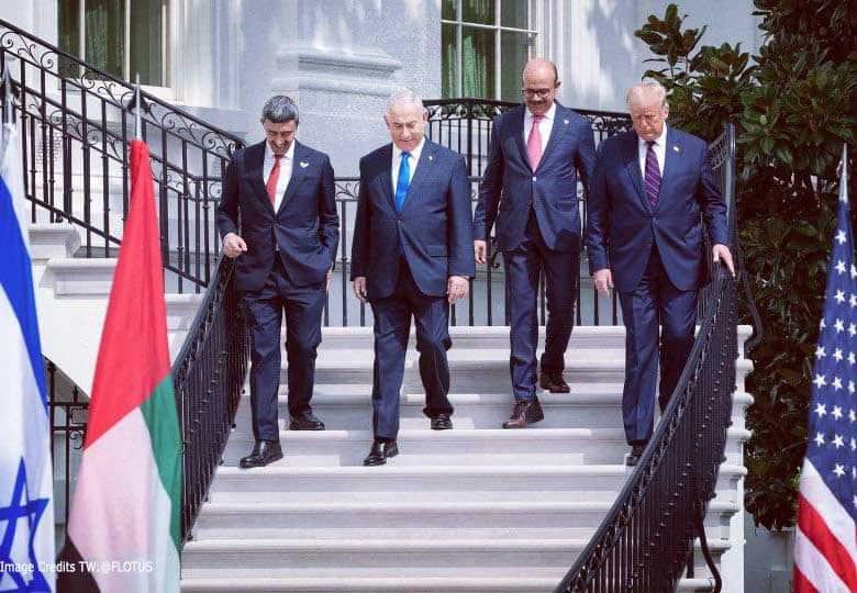 Pemimpin di Majlis Abraham Accord