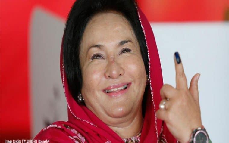 Bekas pegawai khas Datin Seri Rosmah Mansor