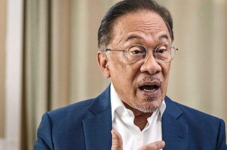 Berita Gempar : Anwar di bawah siasatan polis untuk enam kes