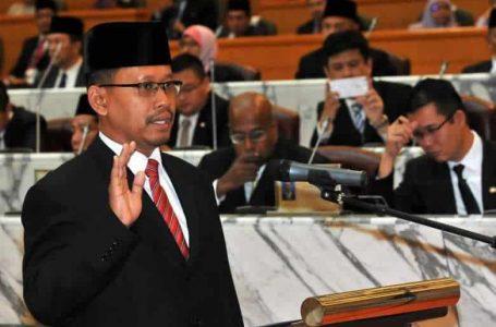 Speaker Sabah, Menteri, Timbalan Menteri mengangkat sumpah jawatan