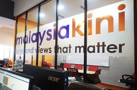 Malaysiakini meminta sumbangan orang ramai untuk membayar denda RM500,000 pada hari Rabu