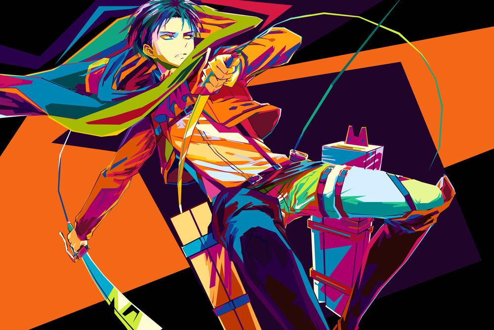 Manga popular menjadikan anime 'Attack on Titan' 'disensor', memakai batik