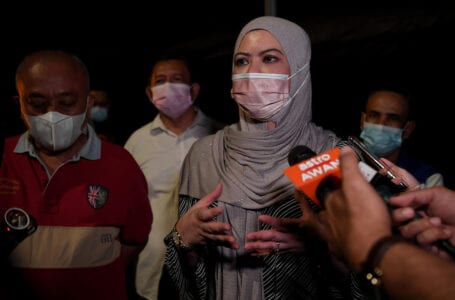 Srikandi berkata tegas di belakang PM Muhyiddin
