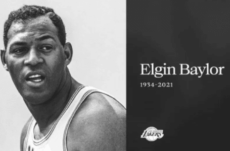 Legenda Lakers Baylor meninggal pada usia 86 tahun