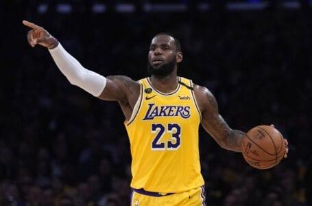 LeBron NBA sedih, Lin patah hati kerana penembakan