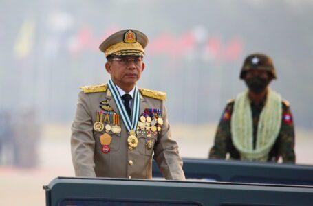 Ketua junta Myanmar untuk menghadiri sidang kemuncak ASEAN