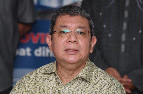 Saifuddin Abdullah positif untuk Covid-19