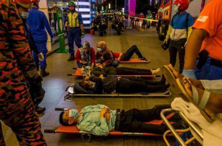 166 cedera termasuk 47 cedera parah dalam nahas kereta api LRT berhampiran KLCC
