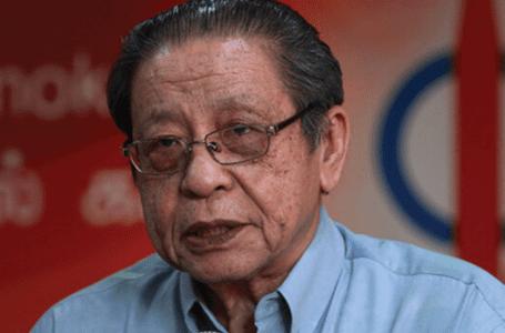 DAP Kit Siang memberi sokongan kepada Timbalan Speaker Azalina memanggil perhatian kerajaan
