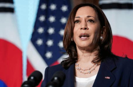 VP Harris mengatakan AS akan 'bersuara' di Laut China Selatan